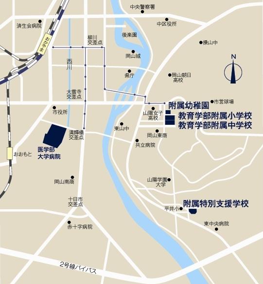 東山地区アクセスマップ